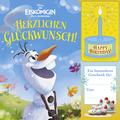 Disney Die Eiskönigin, völlig unverfroren, Herzlichen Glückwunsch!, m. Soundeffekten