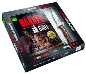 Männer am Grill - Das Buch, das Mann braucht!, mit Tramontina-Steakmesser