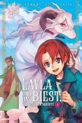 Layla und das Biest, das sterben möchte - Bd.4