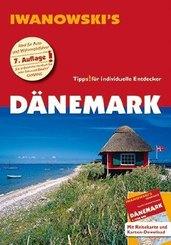 Iwanowski's Dänemark, m. 1 Karte