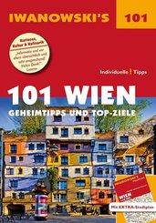 Iwanowski's 101 Wien, m. 1 Karte