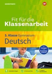 Fit für die Klassenarbeit - Gymnasium - Deutsch 5