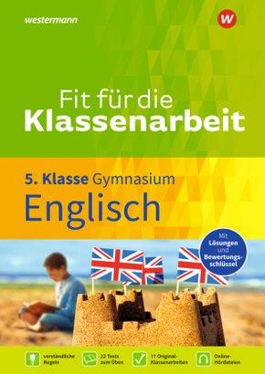 Fit für die Klassenarbeit - Gymnasium - Englisch 5
