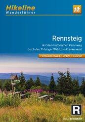 Hikeline Wanderführer Fernwanderweg Rennsteig