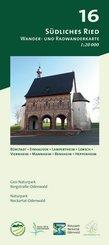 Odenwald Freizeitkarte Südliches Ried