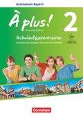 À plus! Nouvelle édition, Ausgabe Bayern: 7. Jahrgangsstufe, Schulaufgabentrainer mit Audios und Lösungen online und zum Download; .2