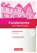 Fundamente der Mathematik, Gymnasium Rheinland-Pfalz: 9. Schuljahr, Arbeitsheft mit Lösungen