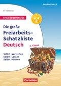 Die große Freiarbeits-Schatzkiste Deutsch, Klasse 2