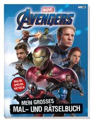 Marvel Avengers: Mein großes Mal- und Rätselbuch