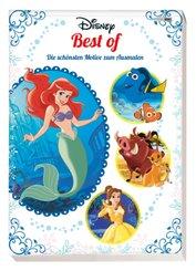 Disney Best of: Die schönsten Motive zum Ausmalen