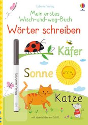 Mein erstes Wisch-und-weg-Buch - Wörter schreiben