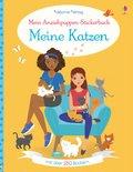 Mein Anziehpuppen-Stickerbuch: Meine Katzen