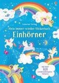 Mein Immer-wieder-Stickerbuch: Einhörner