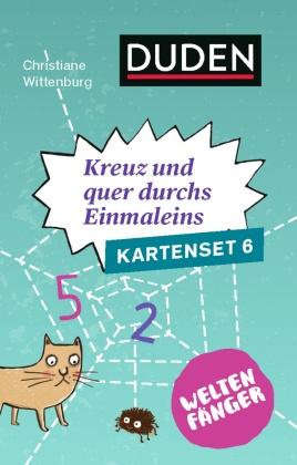 Kreuz und quer durch's Einmaleins (Spiel-Zubehör) - Kartenset.6