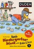 Einfach lernen mit Rabe Linus: Mein Kindergartenblock mit Rabe Linus - Bd.1
