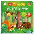 Mein Puzzlekettenbuch - Wir Tiere im Wald