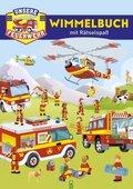 Unsere Feuerwehr - Wimmelbuch mit Rätselspaß