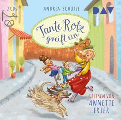 Tante Rotz greift ein, 2 Audio-CDs