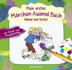 Mein erstes Märchenausmalbuch: Hänsel und Gretel