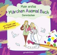 Mein erstes Märchenausmalbuch: Dornröschen
