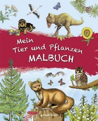Mein Tier und Pflanzen Malbuch