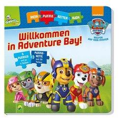 Mein Puzzlekettenbuch - Paw Patrol Willkommen in Adventure Bay!