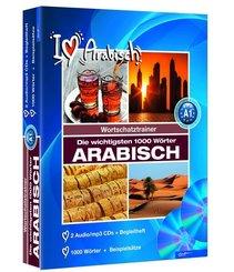Die wichtigsten 1000 Wörter Arabisch, 2 Audio/mp3-CDs + Begleitheft