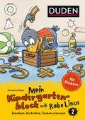 Einfach lernen mit Rabe Linus: Mein Kindergartenblock mit Rabe Linus - Bd.2