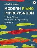 Modern Piano Improvisation, Klavier - Vol.1