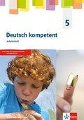 deutsch.kompetent, Ausgabe Gymnasium Nordrhein-Westfalen G9 ab 2019: 5. Klasse, Arbeitsheft