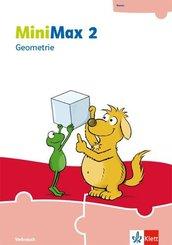 MiniMax. Allgemeine Ausgabe ab 2019: 2. Schuljahr, Geometrie (Verbrauchsmaterial)