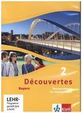Découvertes. Ausgabe für Bayern ab 2017: 7. Klasse, Übungssoftware mit Vokabeltrainer, CD-ROM; 2