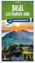 Kümmerly & Frey Basel / Solothurner Jura Wanderkarte
