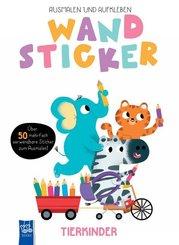 Wandsticker - Tierkinder