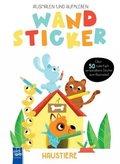 Wandsticker - Haustiere