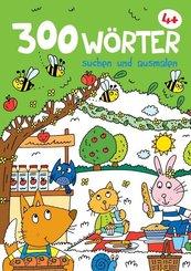 300 Wörter suchen und ausmalen (Picknick)