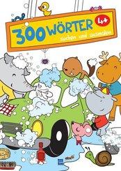 300 Wörter suchen und ausmalen (Autowaschen)