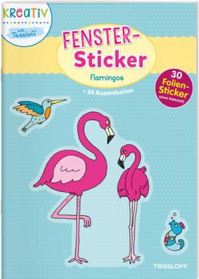 Fenster-Sticker Flamingos