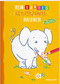 Mein buntes Glitzerzauber Malbuch (Elefant)