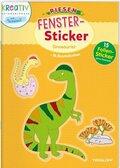 Riesen-Fenster-Sticker Dinosaurier
