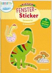 Riesen Fenster-Sticker Dinosaurier