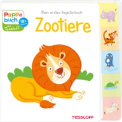 Mein erstes Registerbuch Zootiere