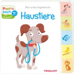 Mein erstes Registerbuch Haustiere