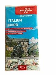 Motorradkarten Set Italien Nord