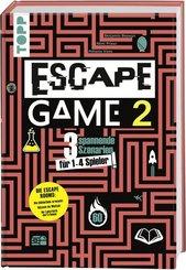 Escape Game - Bd.2 3 Escape Rooms für zu Hause: Die Bibliothek erwacht, Im Labyrinth der Träume, Odyssee im Weltall