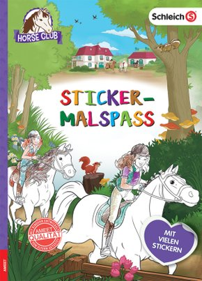 Schleich Horse Club - Sticker-Malspaß