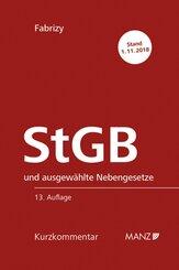 Strafgesetzbuch (StGB) und ausgewählte Nebengesetze, Kurzkommentar (f. Österreich) .