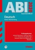 Abi - auf einen Blick! Deutsch Baden-Württemberg 2020