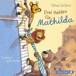 Drei Helden für Mathilda, 2 Audio-CDs