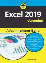 Excel 2019 Alles-in-einem-Band für Dummies